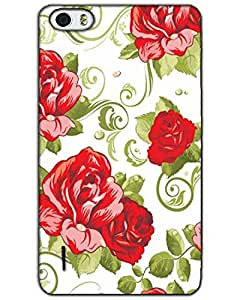 AT Shopping 3d Huawei Honor 6 Back Cover Designer Hard Case Printed Mobile Cover