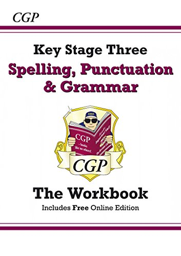 Spelling, Punctuation and Grammar for KS3 - the Workbook (With Online Edition)