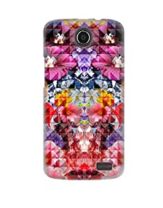 Pick Pattern Back Cover for Lenovo A820t (MATTE)