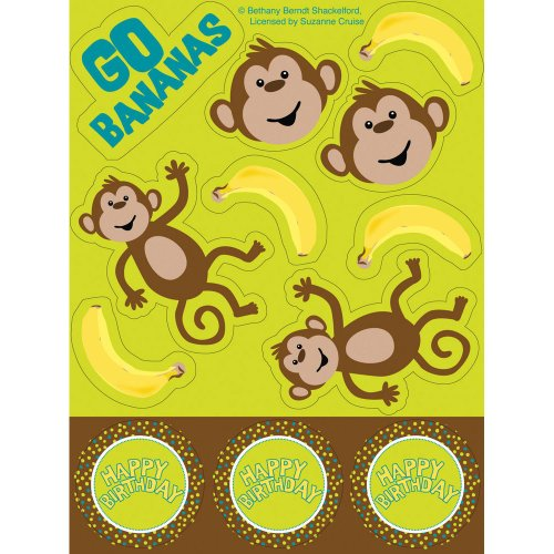 Monkeyin' Around Stickers - 1
