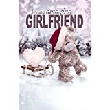 3D Holographic Girlfriend Me to You Bear Christmas Card