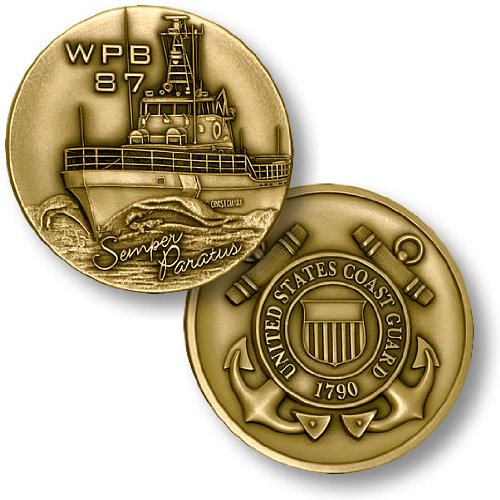 USCG Patrol Boat (WPB 87) Challenge Coin