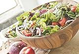 Large Salad Bowl, Acacia Wood
