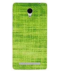 PrintVisa Green Knitted Cloth Design 3D Hard Polycarbonate Designer Back Case Cover for VivoY28