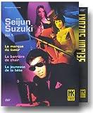 echange, troc Coffret Seijun Suzuki - Vol.1 : La Marque du tueur / La Barrière de chair / La Jeunesse de la bête - Édition 3 DVD