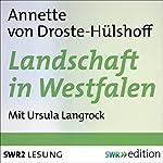 Landschaft in Westfalen   Annette von Droste-Hülshoff