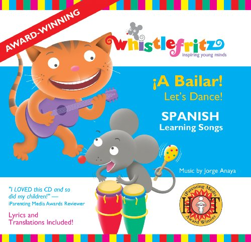 Spanish for Kids: A Bailar! (Kids Dance Cd compare prices)