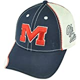 NCAA Mississippi Rebels Ole Miss Wakeboard Unbrush Adjustable Velcro Hat Cap