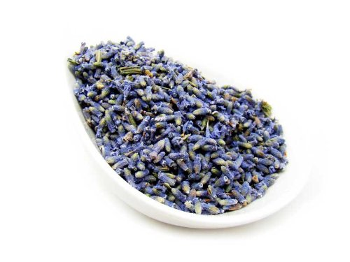 "Lavender Buds Tea - ""Ultra"" Grade French Premium Loose Buds From 100% Nature (4 Oz)"
