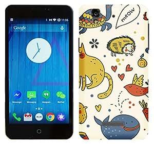 WOW Printed Designer Mobile Case Back Cover For Micromax YU Yureka / Yureka Plus