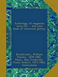 img - for Anthology of magazine verse for ... and year book of American poetry: 1916 book / textbook / text book