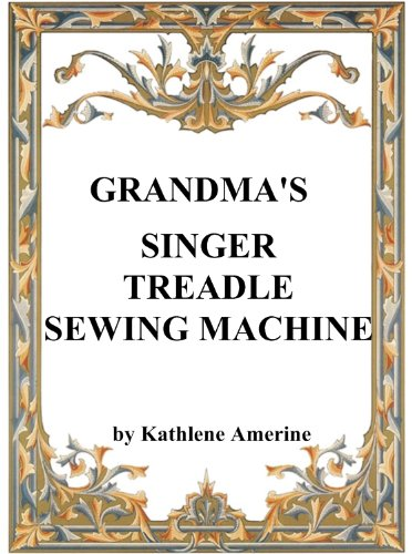 Grandma's Singer Treadle Sewing Machine