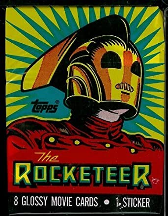 Topps The Rocketeer Trading Card Pack - 8 cards per pack From the Walt Disney Company