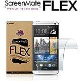 iloome HTC ONE(2013) ScreenMate Flex Flexible Glass 8H Hardness Premium Screen Protector with Oleophobic Coating