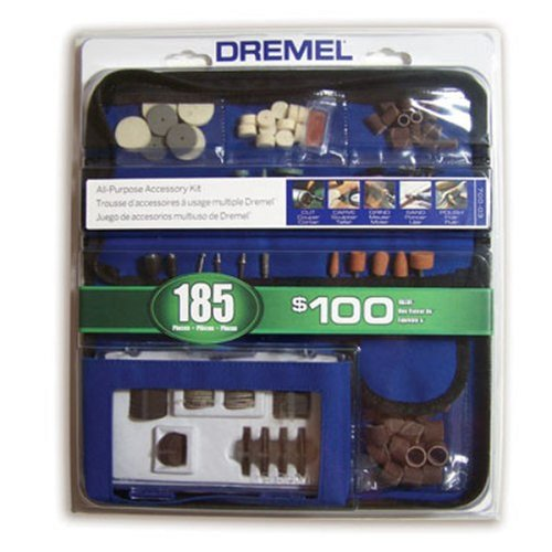 Buy Dremel 700-03 185 Piece General Purpose Rotary Tool Accessory Kit With Case
