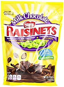 Nestle Raisinets Milk Chocolate Stand Up Bag, 11.0 Ounce Bag