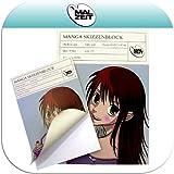 Bloc de dibujo manga/con bloc de 35 hojas, A3 gramaje: 170 G/m²
