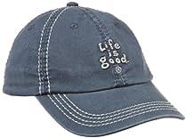Life is Good Unisex Child Kids Essentials Chill Cap, True Blue, Medium/Large (5-10)