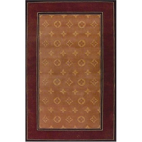 Louis (Vuitton) IV Area Rug 5.3'x8.3'