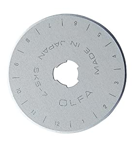 Olfa Rotary Blade Refill Pack RB45-5 (45mm)