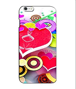 Crazymonk Premium Digital Printed 3D Back Cover For Apple I Phone 6S Plus