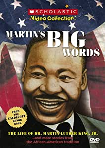 Martin's Big Words...and More Stories from the African-American Tradition (Scholastic Video Collection)