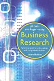Business research:a practical guide for undergraduate and postgraduate students