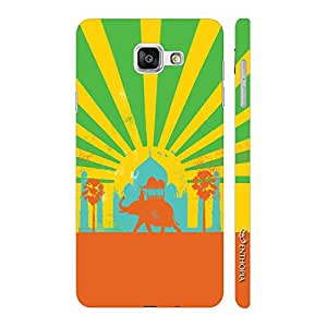 Enthopia Designer Hardshell Case Waah Taj Back Cover for Samsung Galaxy A3 (2016)