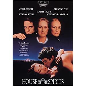 Amazon.com: The House of the Spirits: Jeremy Irons, Meryl Streep ...