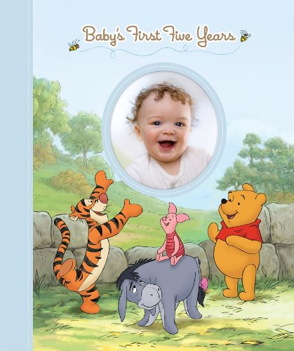 Disney Winnie the Pooh: Baby's First Five Years (Keepsake Record Book and Storage Box for Baby Boy), Editors of Publications International LTD