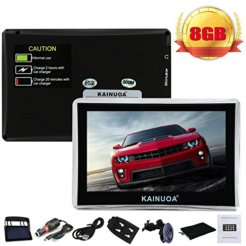 Kainuoa-43-Zoll-Europe-Traffic-GPS-Navi-Navigationsgert-Navigationssystem-mit-kostenlosen-lebenslangen-Kartenupdates-fr-ganz-Europa-fr-PKW-KFZ-Auto-Car-Taxi-Fahrspurassistent-Sprachfhrung-POI-Blitzerw