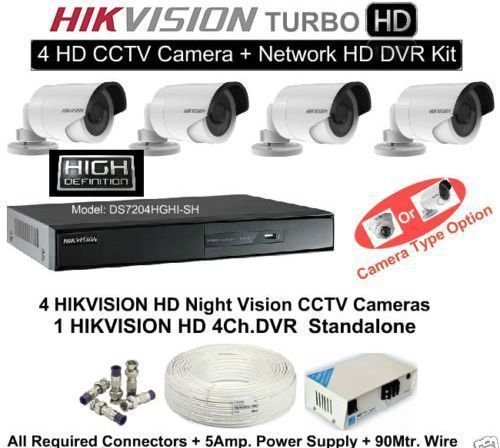 915d061b054 67% OFF on Hikvision 4 CCTV Cameras (Night Vision)   4 Channel DVR  Standalone Kit on Amazon