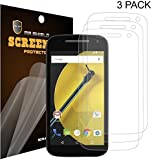 Mr Shield For Moto (Motorola) E 2nd Generation (2015 Version) Anti-Glare [Matte] Screen Protector [3-PACK] with Lifetime Replacement Warranty