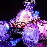 Trendi Kids Radio Remote Control 360 Degree Stunt Car with Flashing Lights and Music