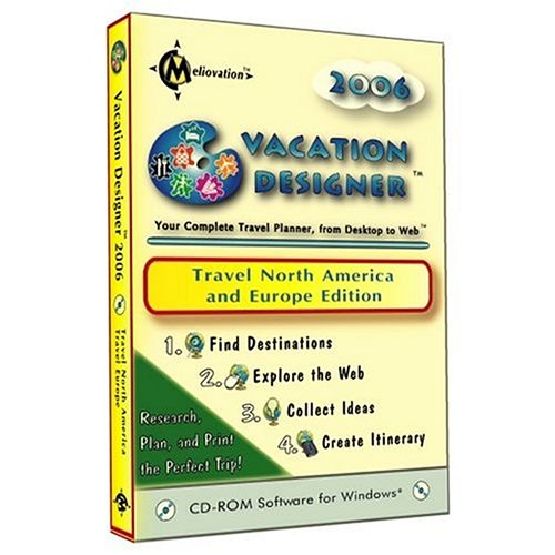 Vacation Designer 2006 - Travel North America and Europe Edition (CD-ROM)