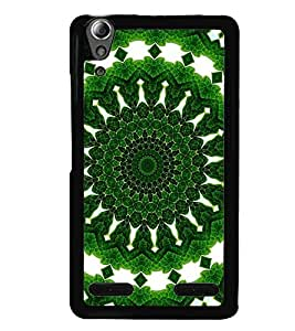 printtech Green Pattern Back Case Cover for Huawei Honor 6 Plus ,