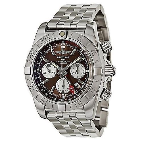 breitling-da-uomo-44-mm-bracciale-in-acciaio-custodia-automatic-marrone-cronografo-ab042011-q589