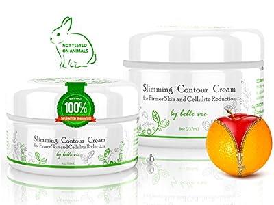 Belle Vie Slimming Contour Cellulite Cream with Retinol and Caffeine