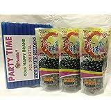 3 Packs of BOBA (Black) Tapioca Pearl
