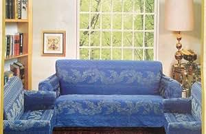 Amazon Com Sofa Couch Cover Slipcover 3 Pc Set Sofa
