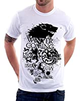 t-shirt Game Of Thrones Stark Lannister - Targaryen Le Trône de fer - S M L XL XXL by tshirteria