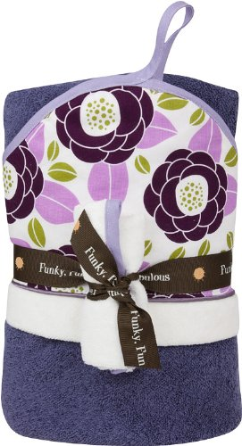 Baby JaR Hooded Towel Set, Avery