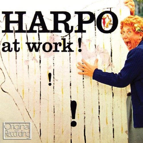 Harpo at work! Harpo's harp playing on CD
