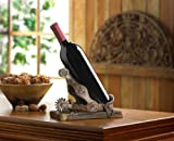 Wine Single Bottle Western Stopper Unique Tabletop Funny Holder Rustic Cowboy Cork Set Happy Chef Countertop Rack