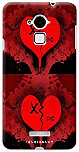 Fashionury Back Case Cover For Coolpad Note 3-Print3254
