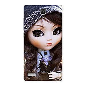 Ajay Enterprises Cuty Cool Cute Beautiful Doll Back Case Cover for Redmi Note Prime