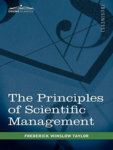 an overview of frederick tailors business management principles Steps in scientific management process taylor's scientific management consisted of four principles: replace rule of thumb work methods with methods based on a.
