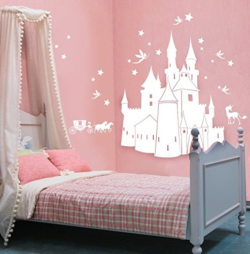 elven-fairy-unicorn-castle-wall-decals-locks-lock-and-stars-wall-decals-m327