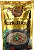 Santa Fe Bean Co., Instant Fat Free Vegetarian Refried Beans, 7.25-Ounce Pack (Pack of 8)