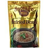 Santa Fe Bean Co., Instant Fat Free Vegetarian Refried Beans, 7.25-Ounce Pack (Pack of 8) ~ Santa Fe Bean